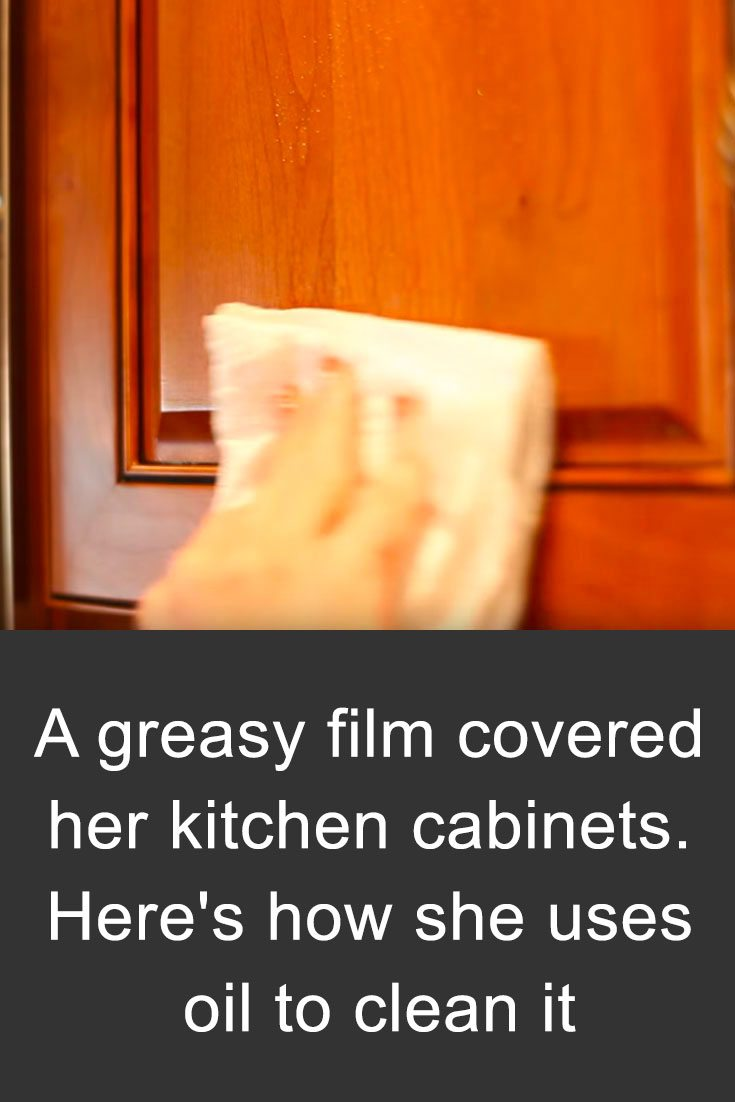 how to clean greasy kitchen cabinets remove grease from kitchen cabinets with this common item 16869