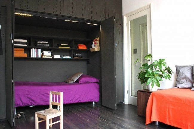 334905-space-saver-beds-with-purple-bedding-and-built-in-bookshelves-also-cabinets-with-dark-wood-flooring-and-indoor-plant-plus-day-bed-bedding-650-33193b02a2-1484634161