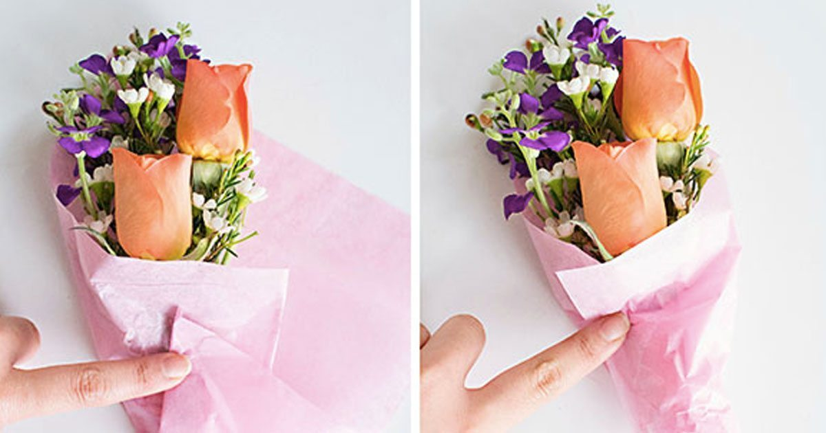 Don T Miss How To Create A Mini Flower Bouquet Right At Home
