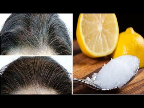 Mix Lemon And Coconut Oil Together It Returns Grey Hair To It S