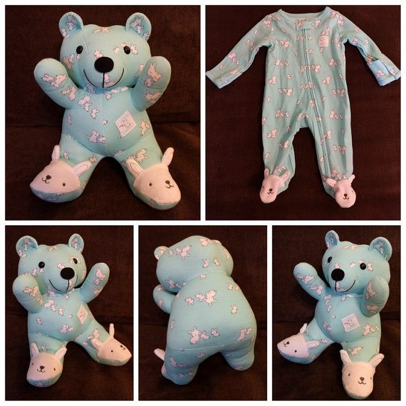 How To Transform Baby S Clothes Into Cherished Memory Bears
