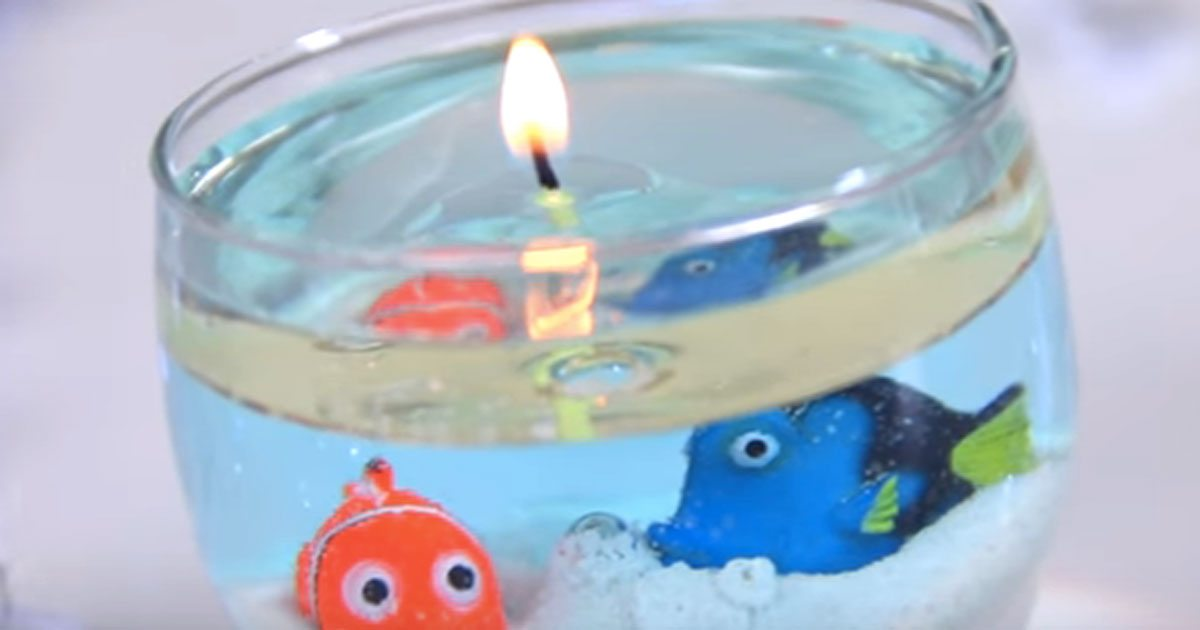 Create A Stunning Water Candle That Will Impress Your