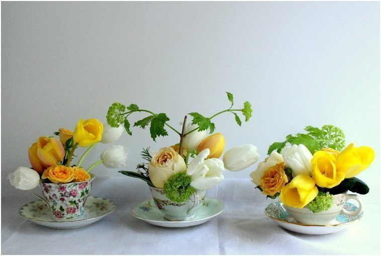 teacup-flower-arrangements