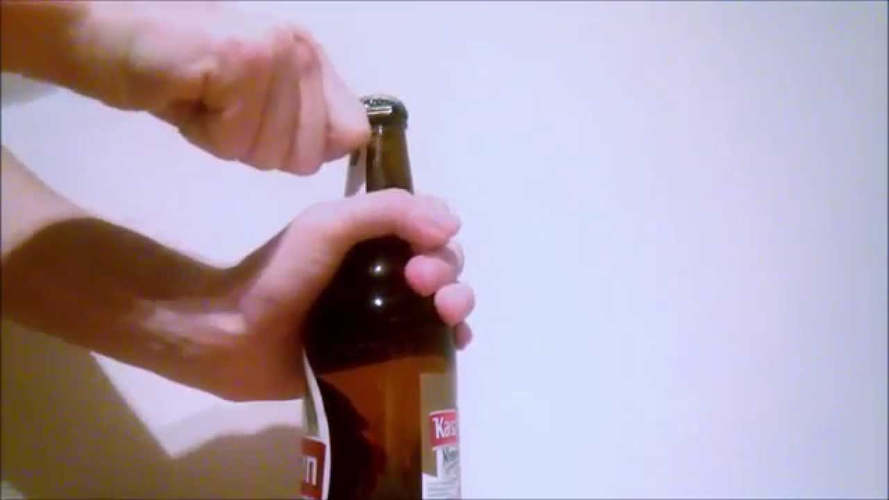 how to open wine bottle without opener youtube