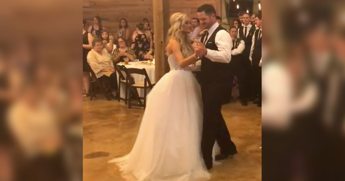 Bride And Groom Have Their First Dance When The Music Changes Prepare For Epic Dance Battle