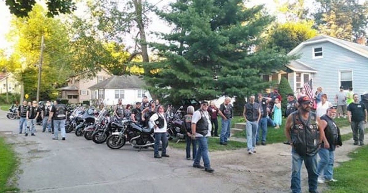 Bully torments 7-year-old girl for a year, then group of bikers shows up to protect her