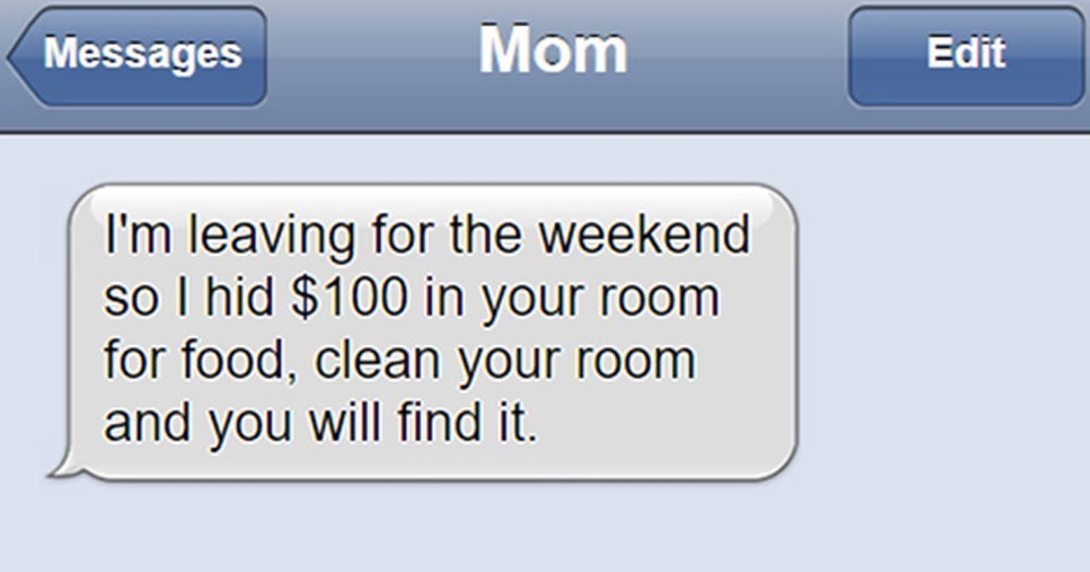 13 of the most hysterical texts that Moms sent to their children