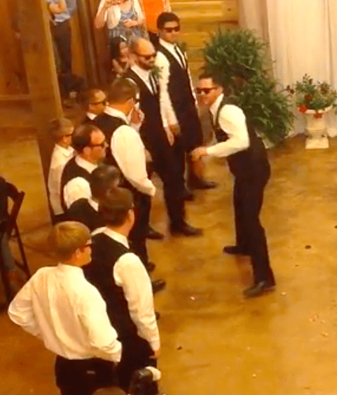 Groom Dancer Surprises Ballerina Bride With Dance At: Bride And Groom Surprise Wedding Guests With Epic Dance-Off