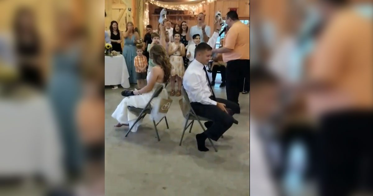 Bride And Groom Complete A Hilarious 'Marriage Quiz'