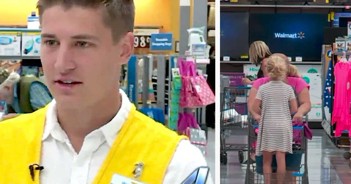 Teen Cashier Pays For Woman S Groceries