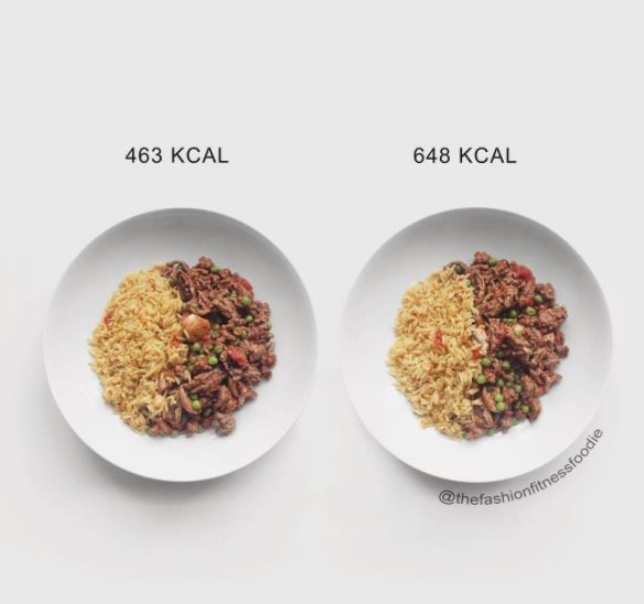Counting calories? These food comparisons might change the way you think about food
