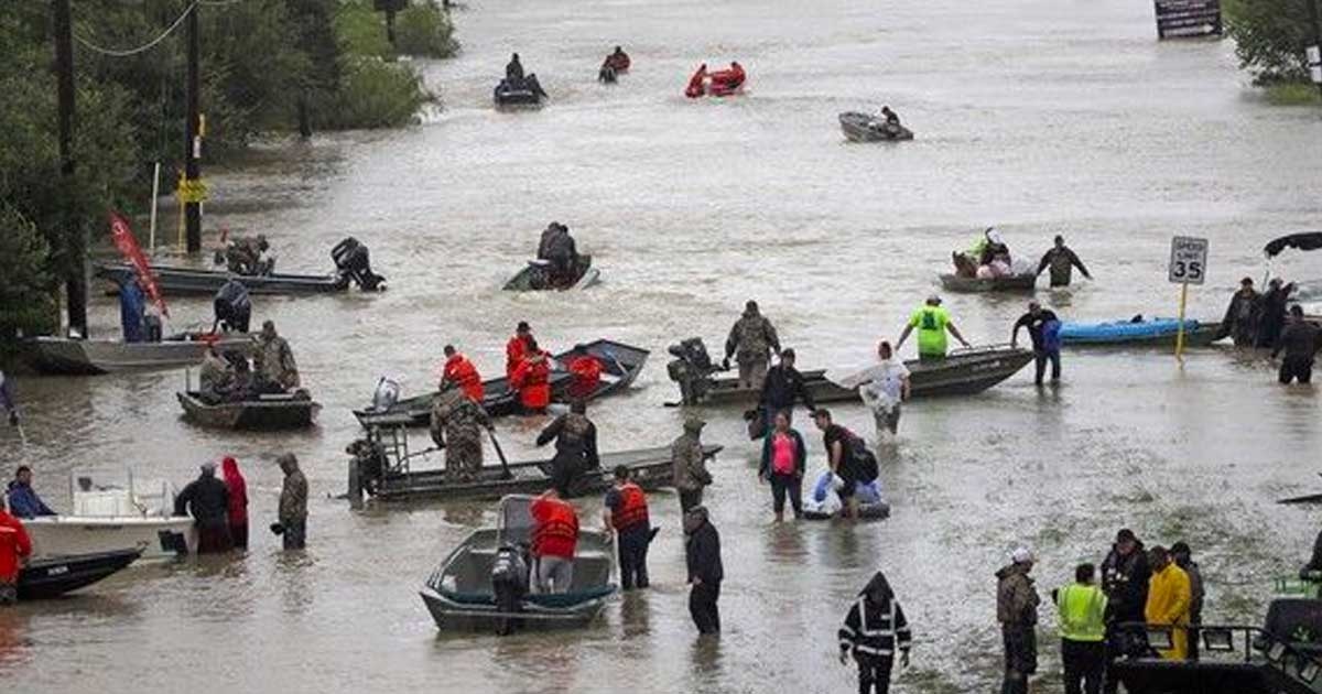 Cajun Navy Formed After Katrina Is Rescuing Texas