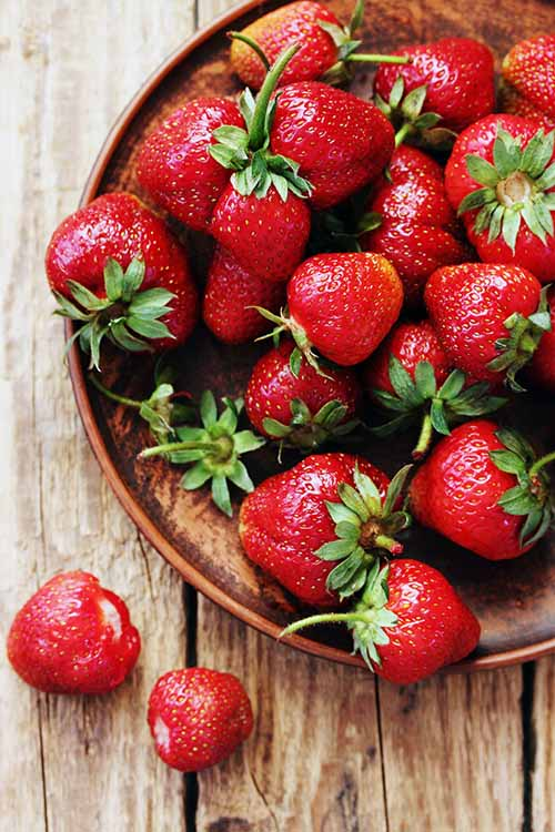 Keep strawberries fresh when you store them in the fridge with this vinegar hack