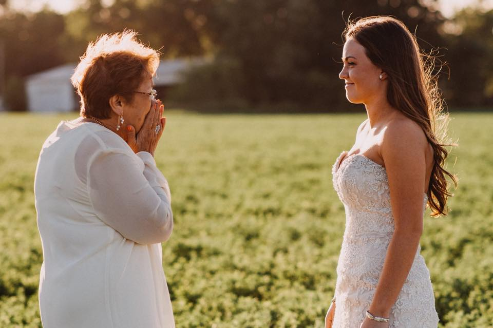 Her To Close Eyes And Wait Until Brittany Was Enough Tap Shoulder Grandmas Reaction When She Finally Saw The Sweetest Thing