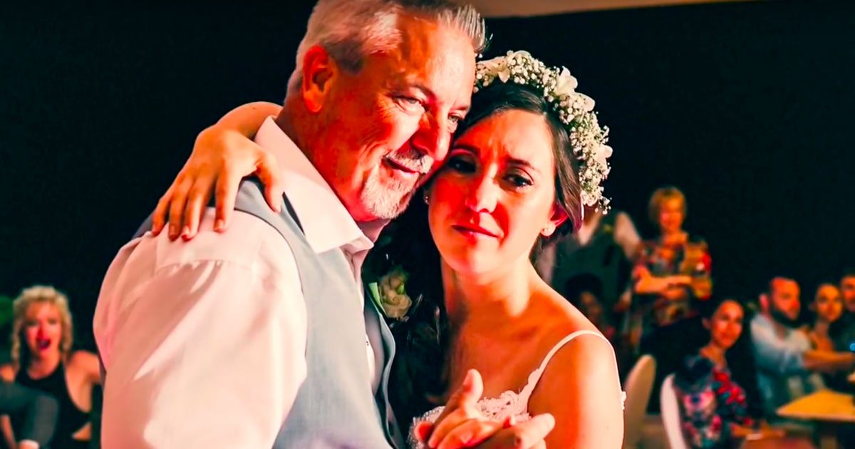 Dad Wont Pick A Song For Father Daughter Wedding Dance Has Creative Alternative In Mind