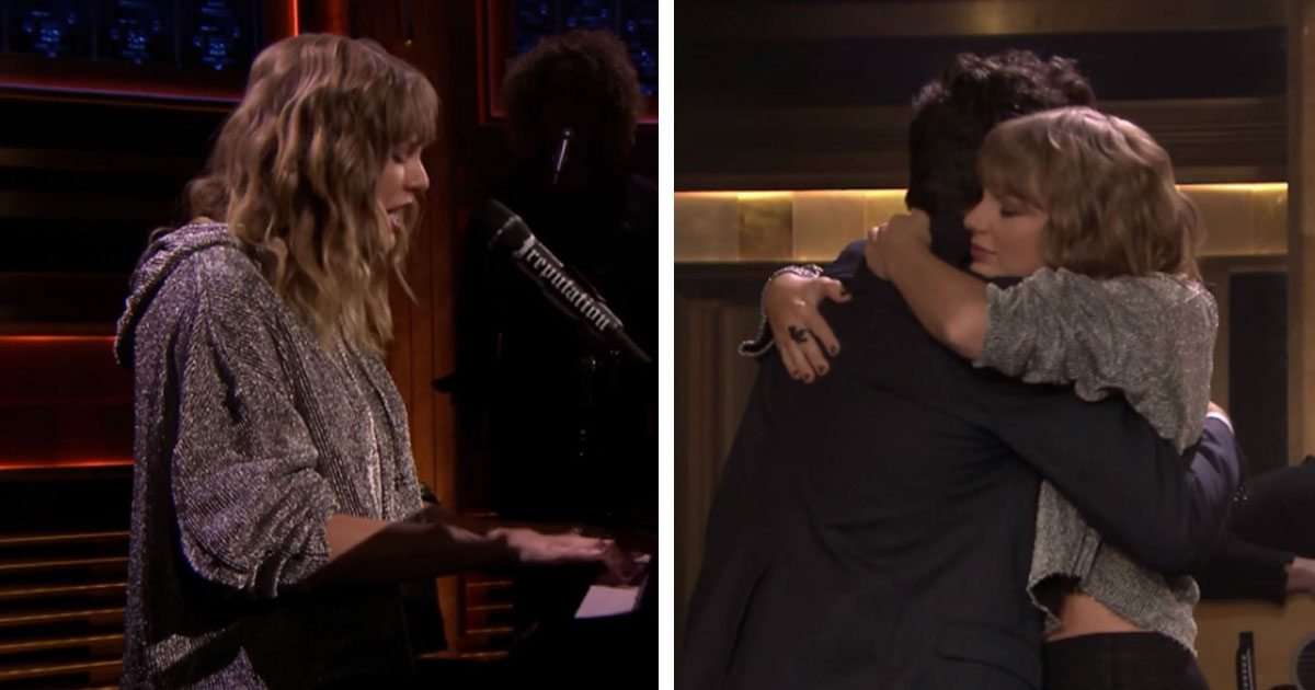 Taylor Swift Debuts Song On Jimmy Fallon. The Story Behind Her Appearance Will Break Your Heart