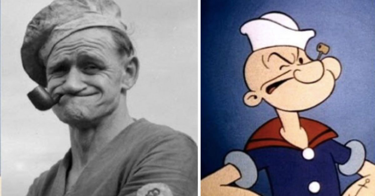 11 Real Life People That Famous Cartoon Characters Were Based Off Of