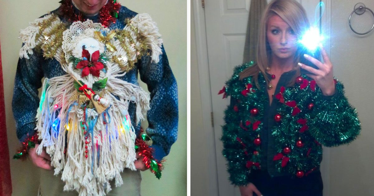 The Results Are In - Here Are The Ugliest \'Ugly\' Christmas Sweaters ...