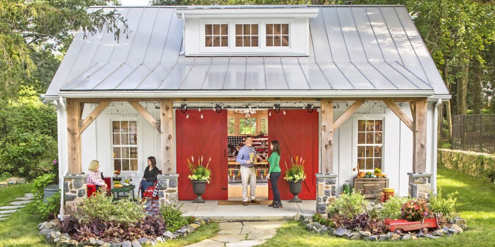 take a tour of this gorgeous delaware party barn the backyard is