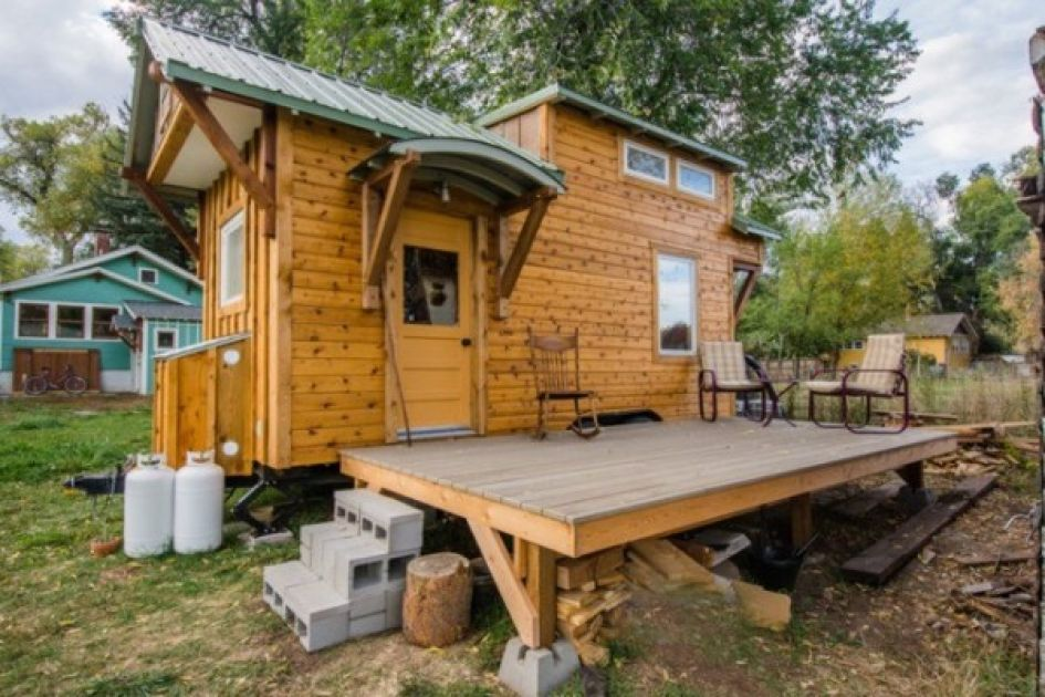 Don't Be Fooled By This Cottage's Tiny Exterior - The Second Bedroom on tiny portable homes, tiny bedroom, tiny log homes, small box type house designs, tiny plans, loft small house designs, tiny room design ideas, tiny custom homes, tiny homes with staircases, tiny interior design, tiny homes inside and outside, tiny house, tiny kit homes, tiny prefab homes, mini bungalow house plans designs, tiny books, tiny compact homes, tiny fashion, tiny modular homes, tiny art,