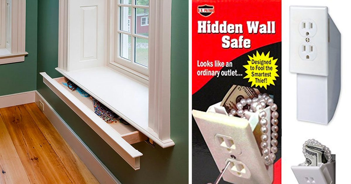 Want To Keep Your Valuables Safe At Home? Here Are 15 Unexpected Places To Hide Them