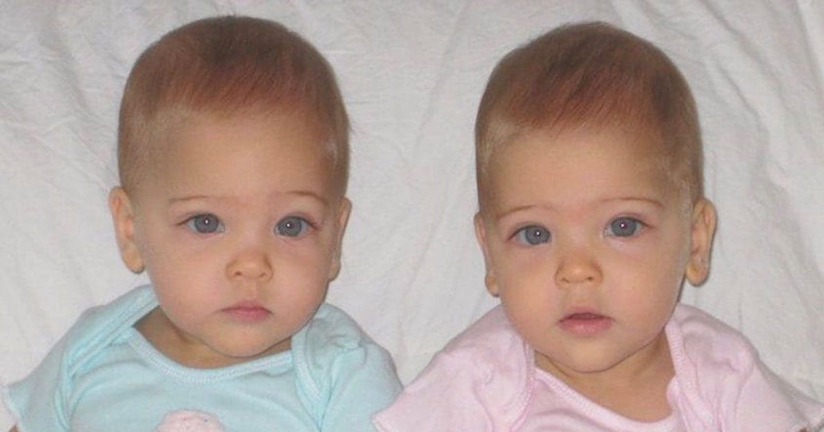 identical twins were born in 2010 now they re dubbed the most