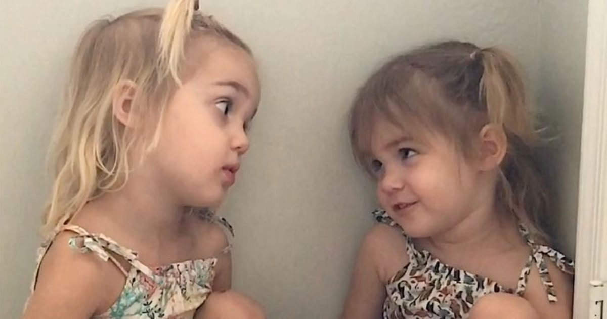 2-Year-Old Tells Twin She Wants To Be A Teacher - Twin's Reply Has Internet Dying Of Laughter