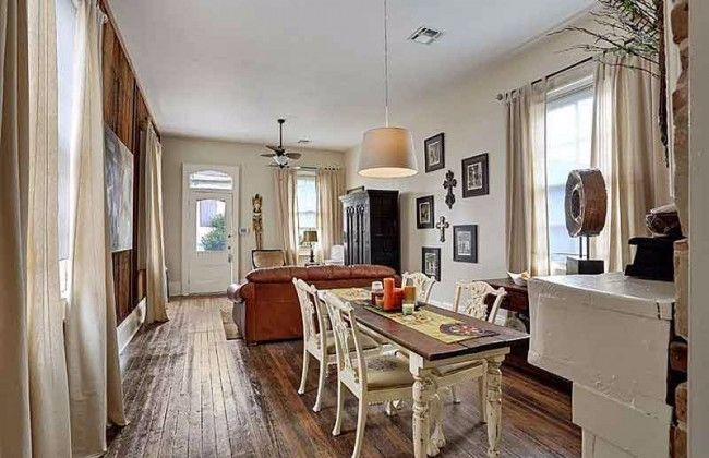 Shotgun House Is Oozing With History The Living Room S