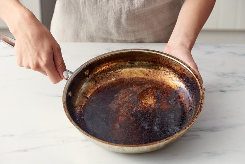 Ways To Clean A Burnt Pot Or Pan