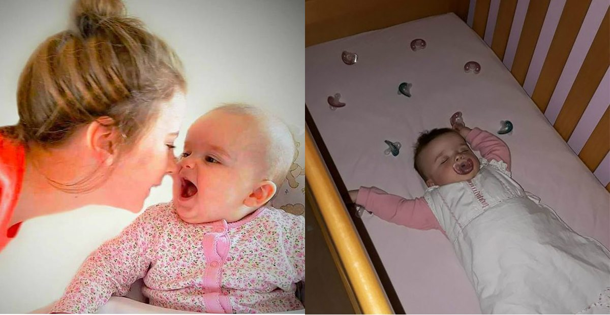 Mom's Uses Clever Pacifier Trick To Help Baby Sleep At Night