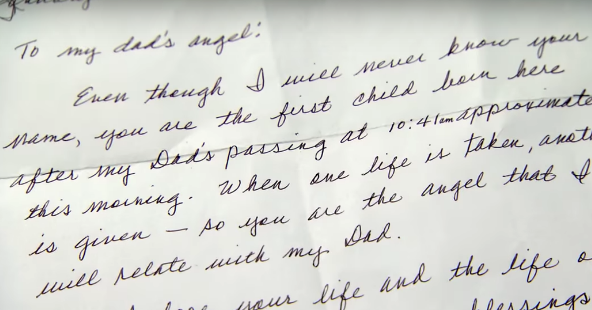 Mom Gets Touching Letter From Stranger After Giving Birth
