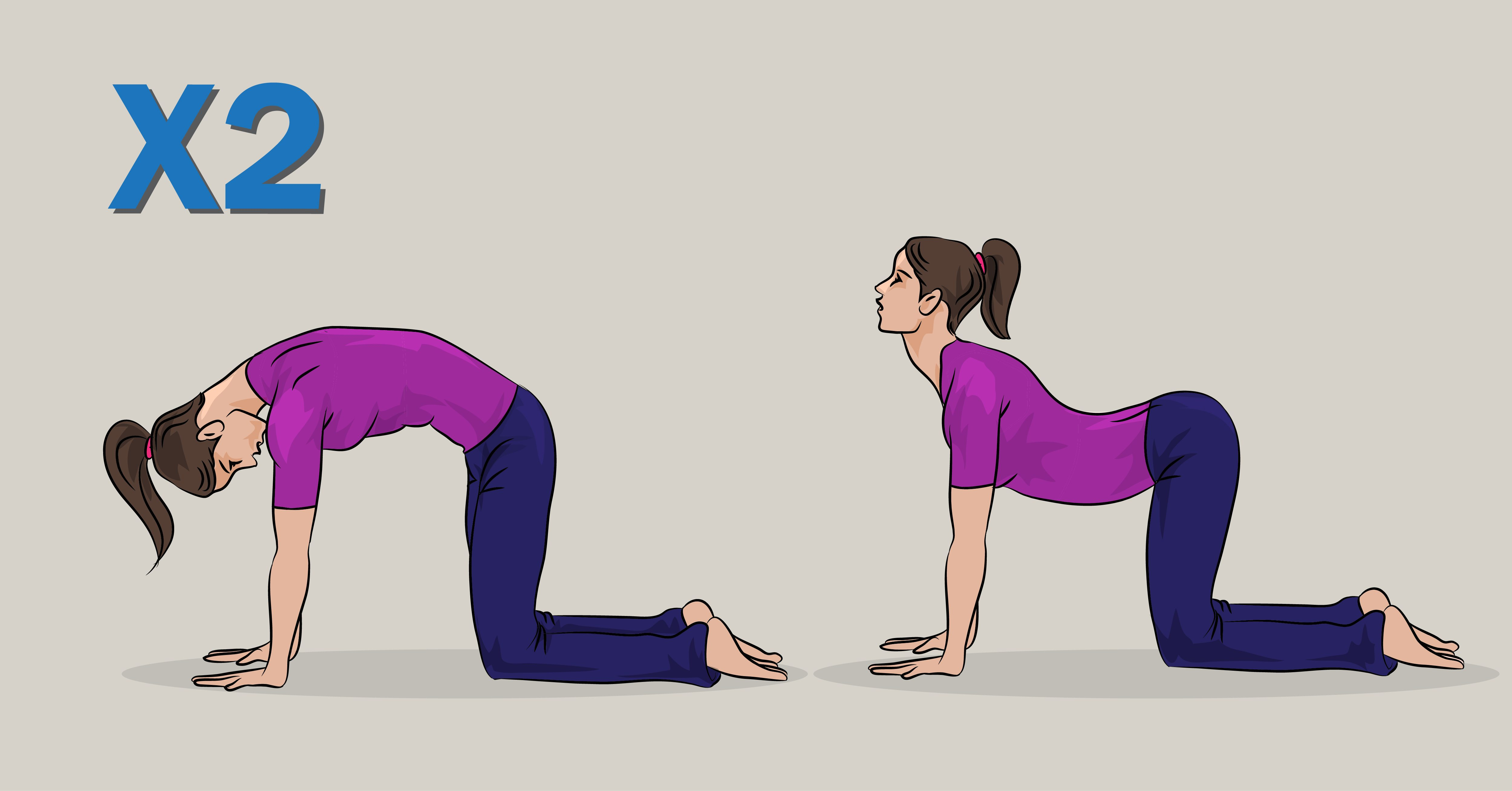 how to stretch your back