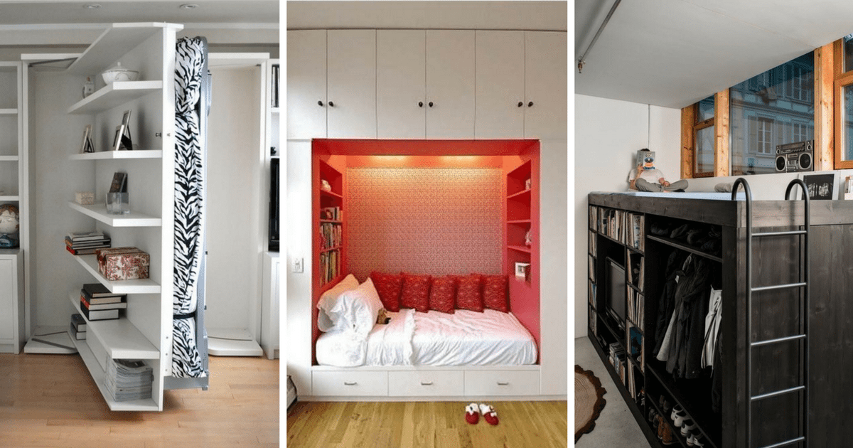 12 Clever Space Saving Beds Perfect For Small Spaces