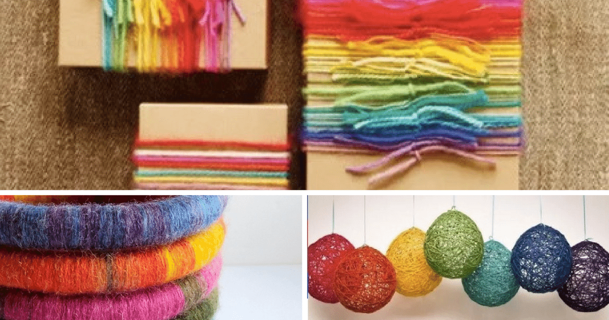 13 Awesome No Knit Yarn Projects
