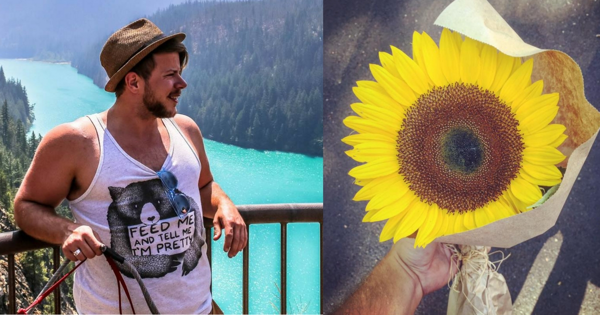 man_gives_sunflower_to_stranger_featured