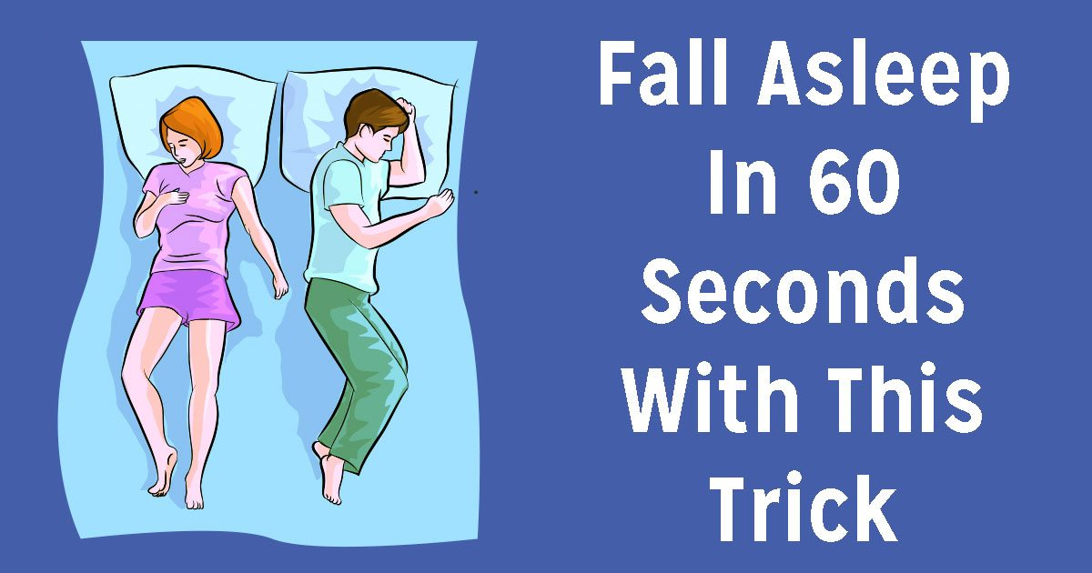 Having trouble sleeping? Here's how to fall asleep in just 1 minute