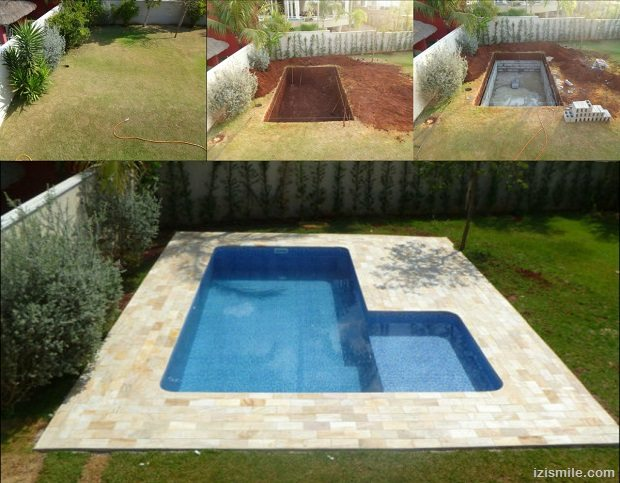 15 diy cinder block projects for Design your own swimming pool online