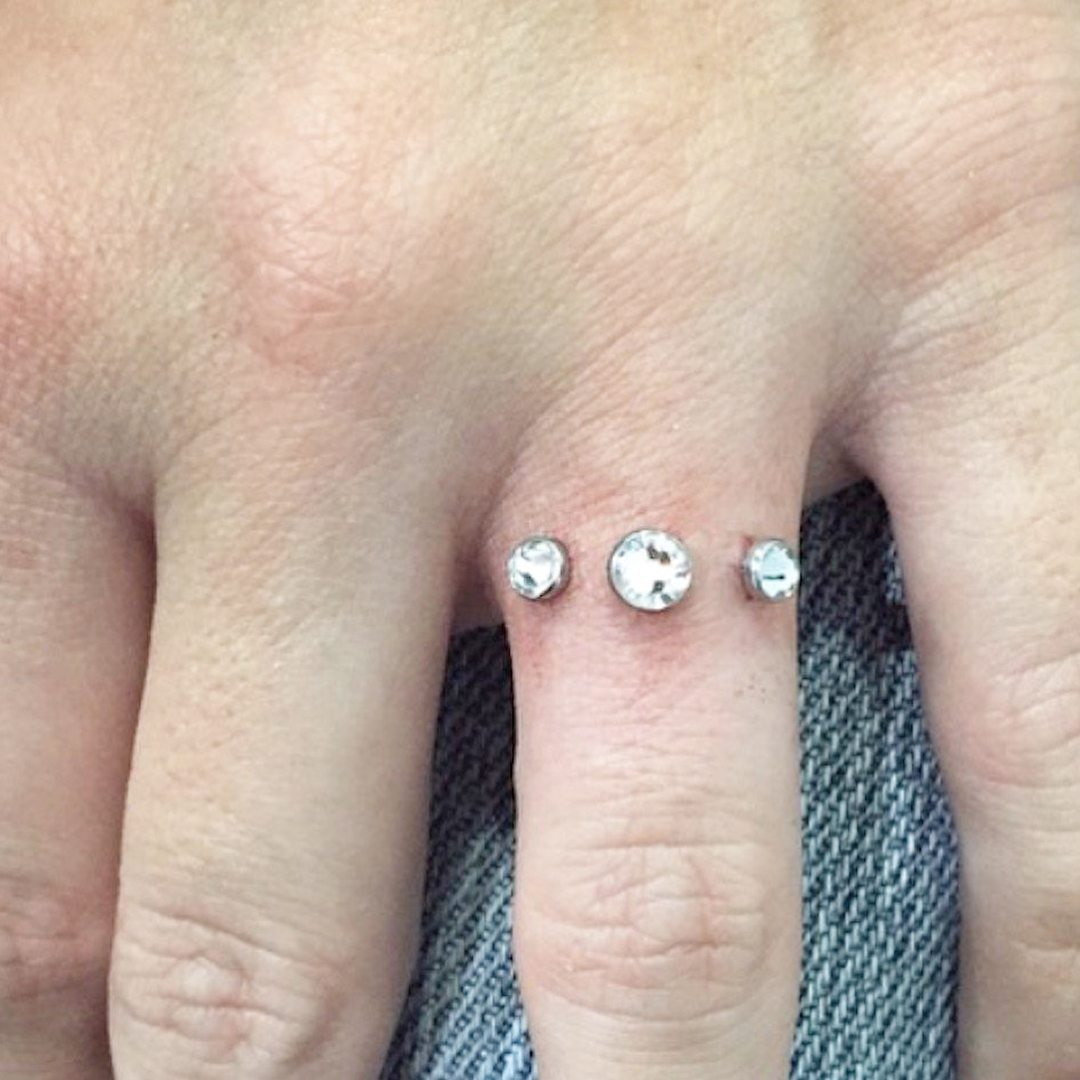 People Are Ditching Wedding Rings For Piercings