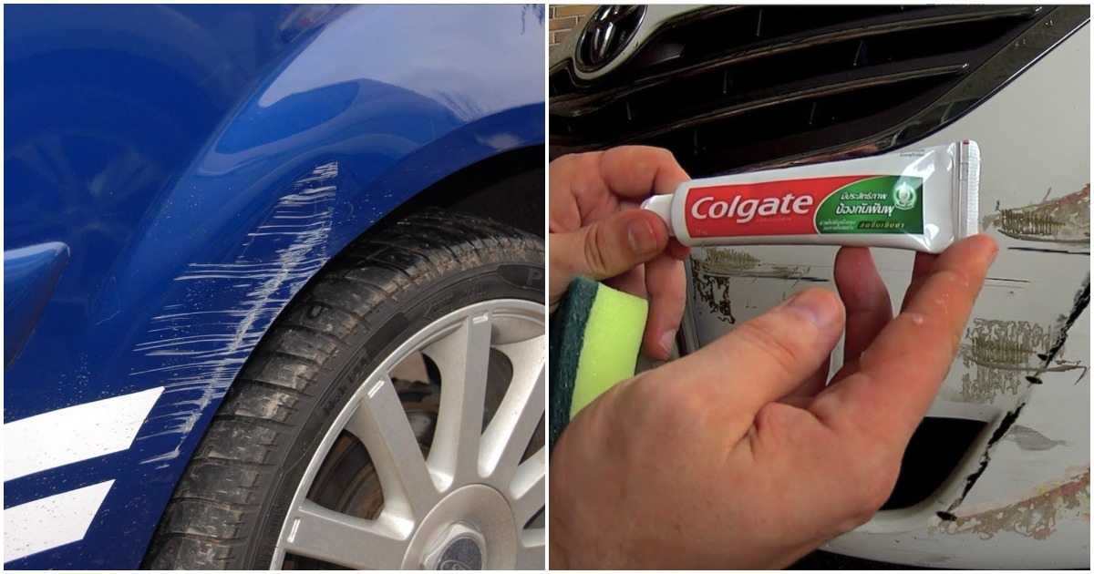 How To Remove Car Scratches At Home