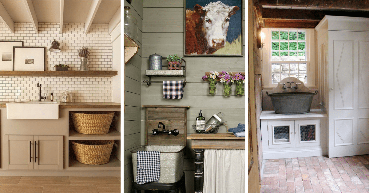laundry room decor ideas 30 inspiring farmhouse laundry room decor ideas 29518