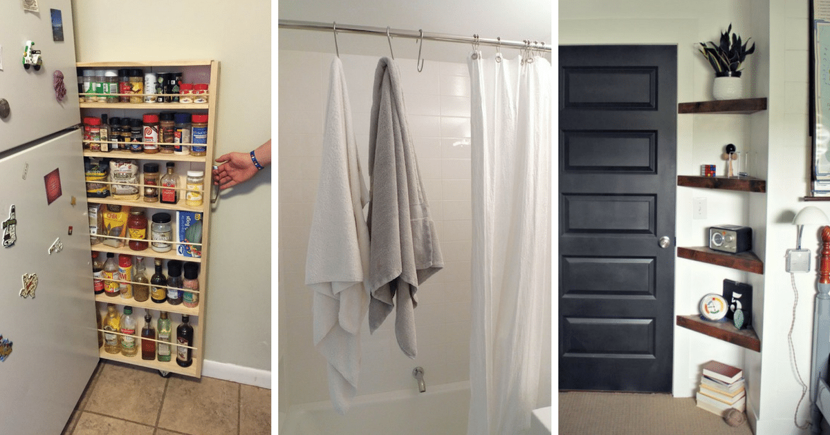 20 Super Clever Ways To Organize Your Tiny Apartment