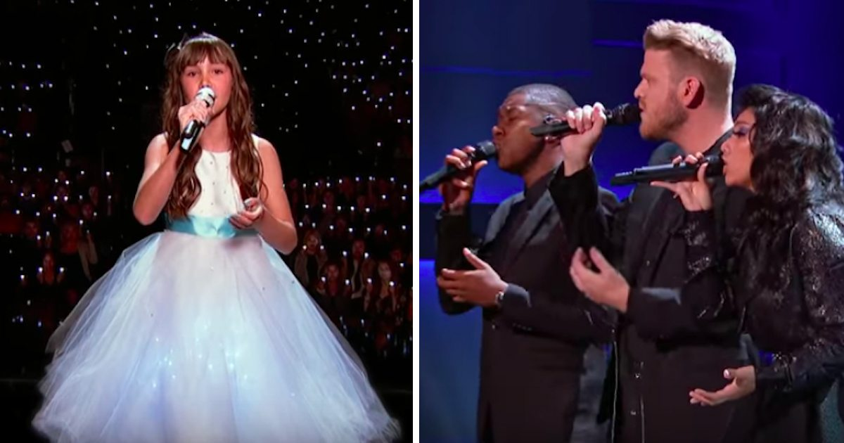 "11-Year-Old Sings Beautiful Version of ""Hallelujah"" With"