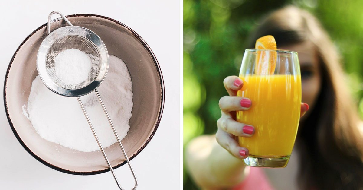 Mix Cream Of Tartar With Orange Juice To Flush Nicotine From Your