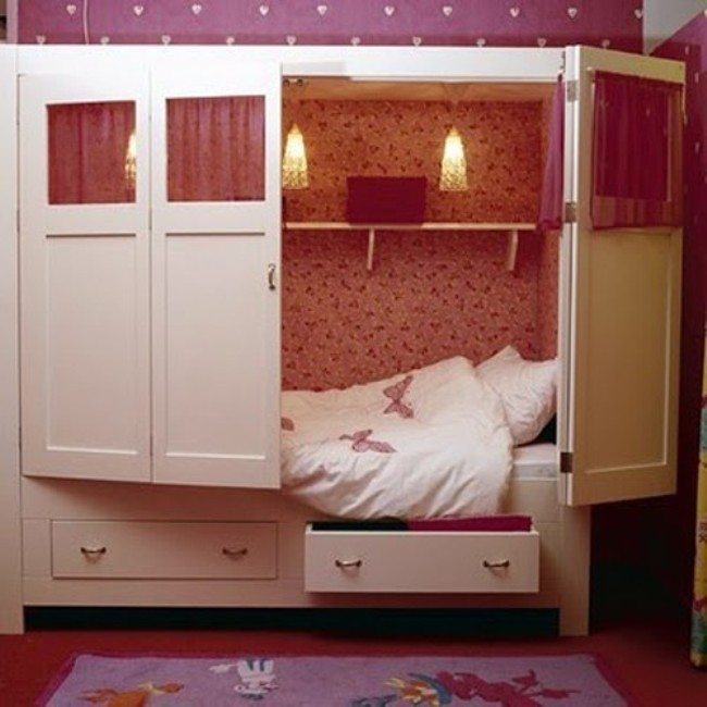 cupboard bed