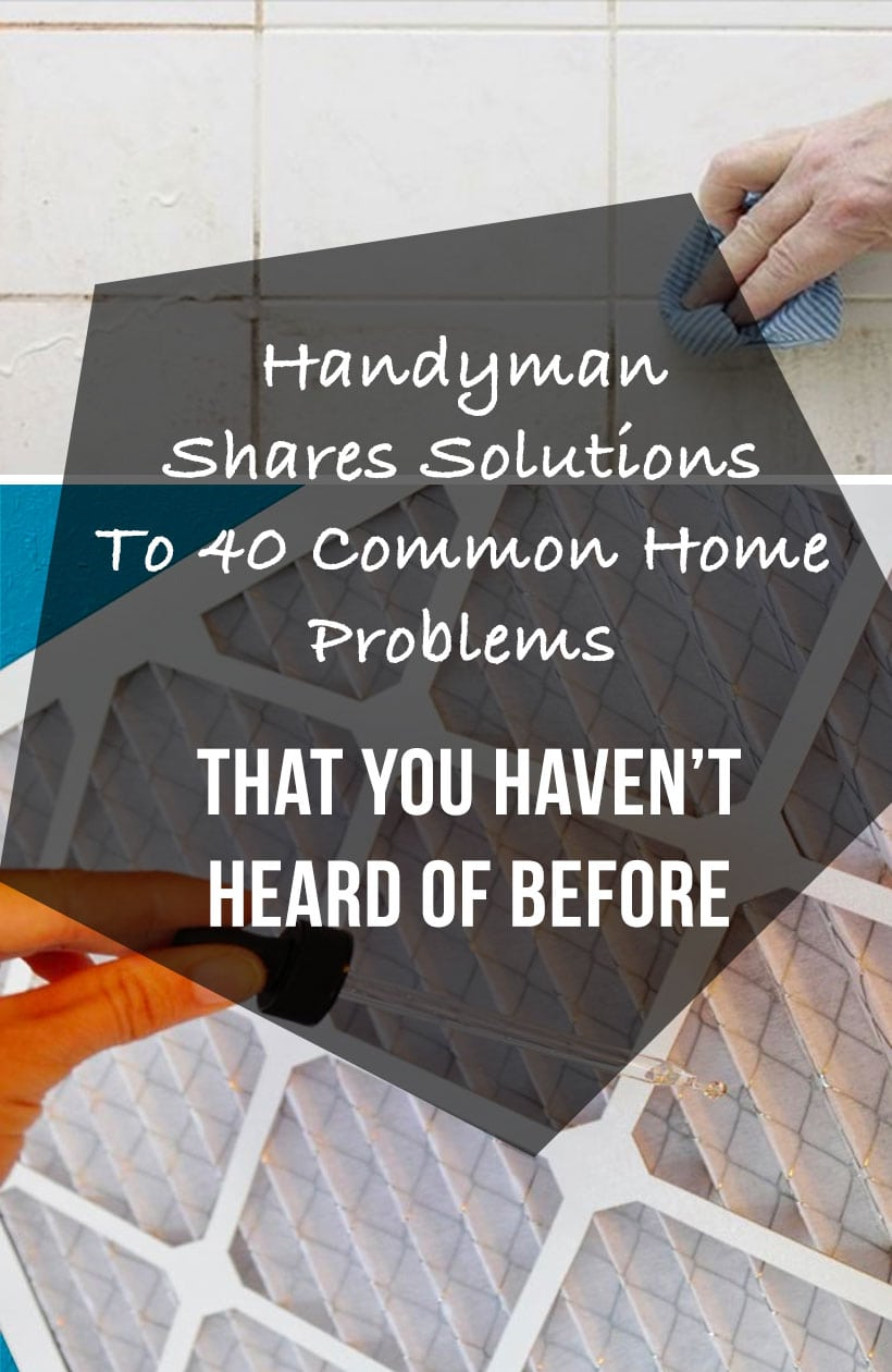 Handyman Shares 40 Solutions To Common Home Problems That You Haven Outlet 4 Prong For Wiring A Stove Http Www Hammerzone Com 1 Repairing Wood Rot