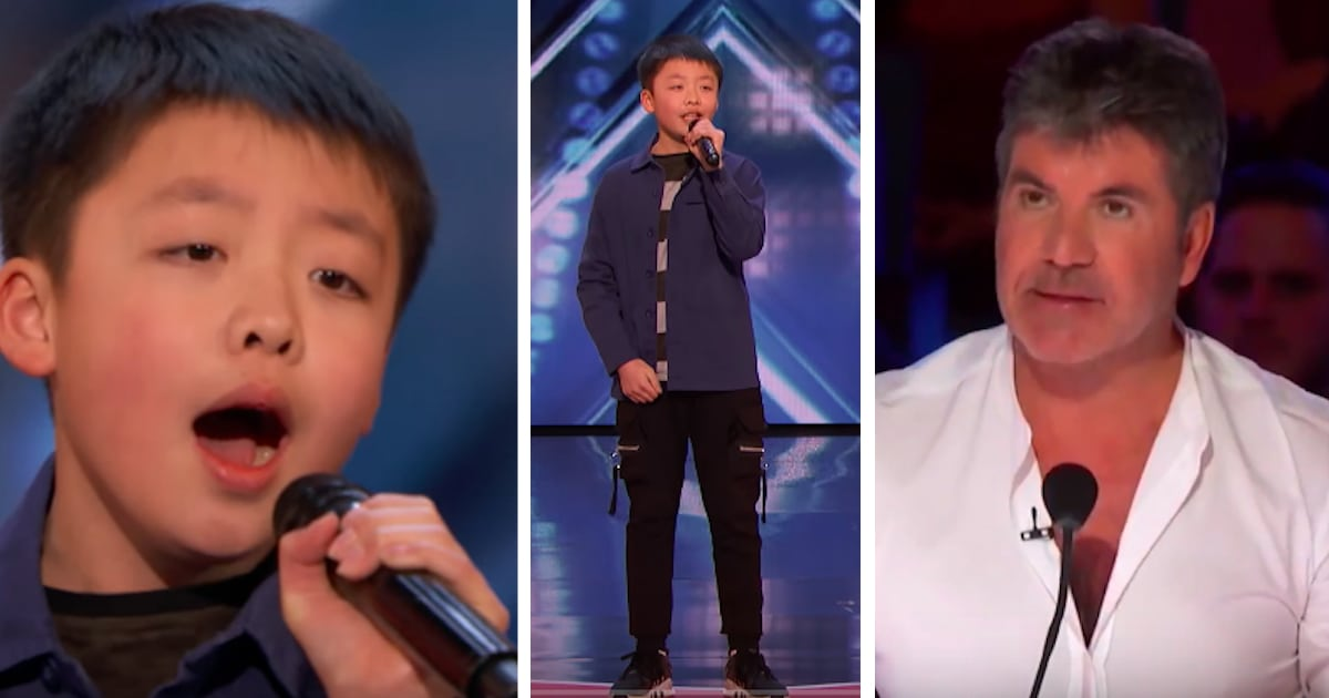 """Lonely 12-Year-Old Belts Out """"You Raise Me Up,"""" Then Simon"""