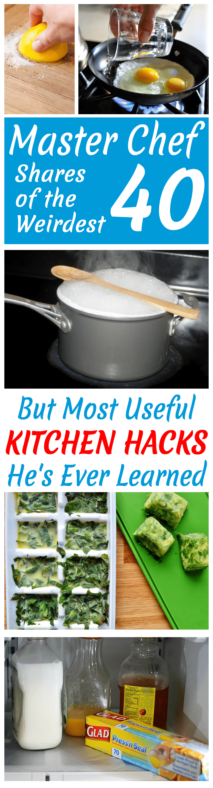 40 Of The Most Clever Kitchen Hacks