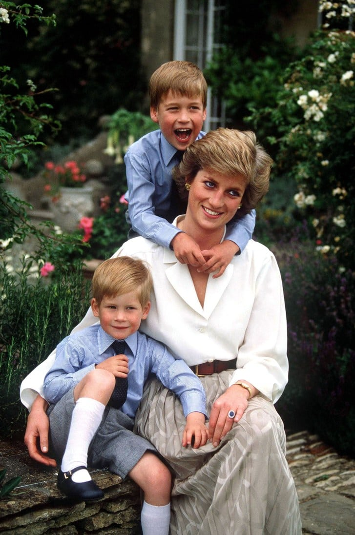 princess-diana-young-harry-william