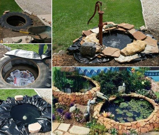 Use An Old Tire To Completely Transform Your Yard