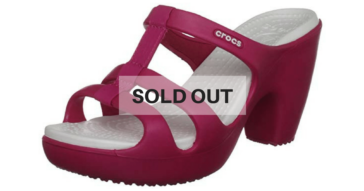 8555d214b182e7 The Internet Can t Get Over How Comfortable These High-Heeled Crocs Are –  They Keep Selling Out!